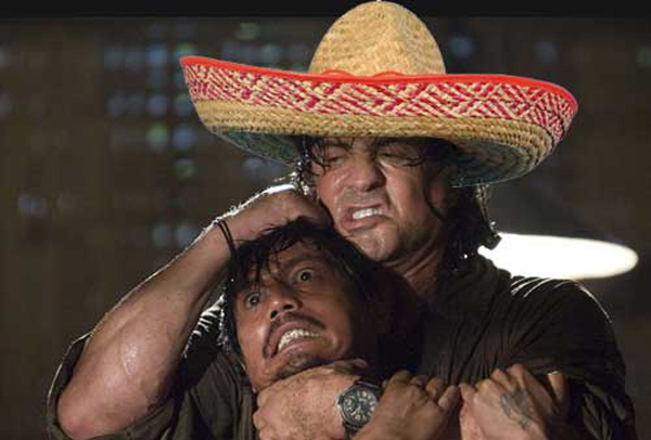 rambo with cheap sombrero