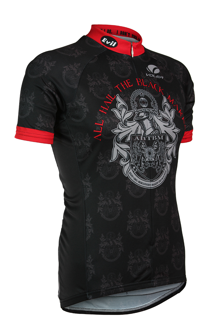 All Hail The Black Market cycling jersey