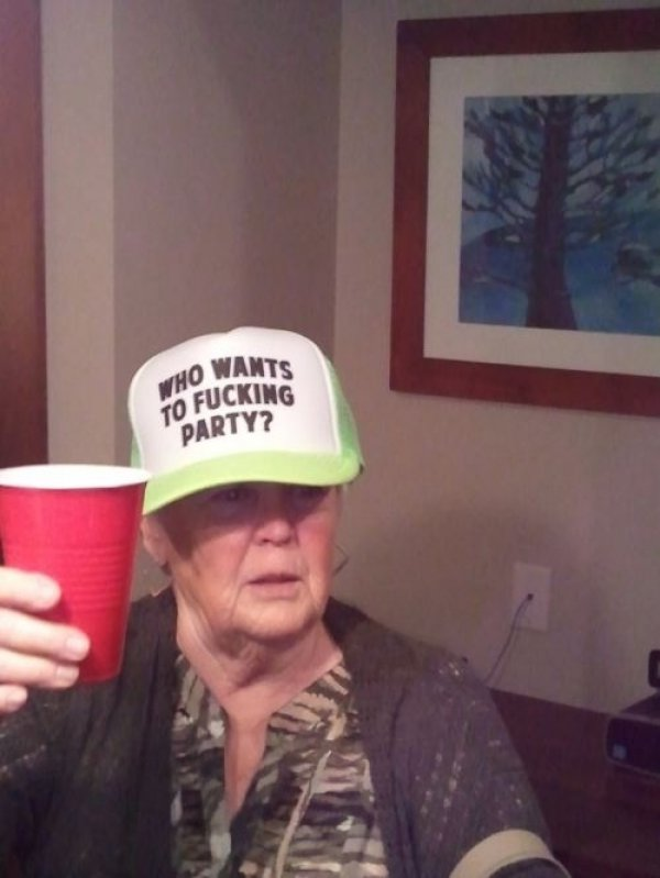4445fc52b49ed3a6e82fe87663bd217c-old-lady-wears-who-wants-to-fucking-party-hat