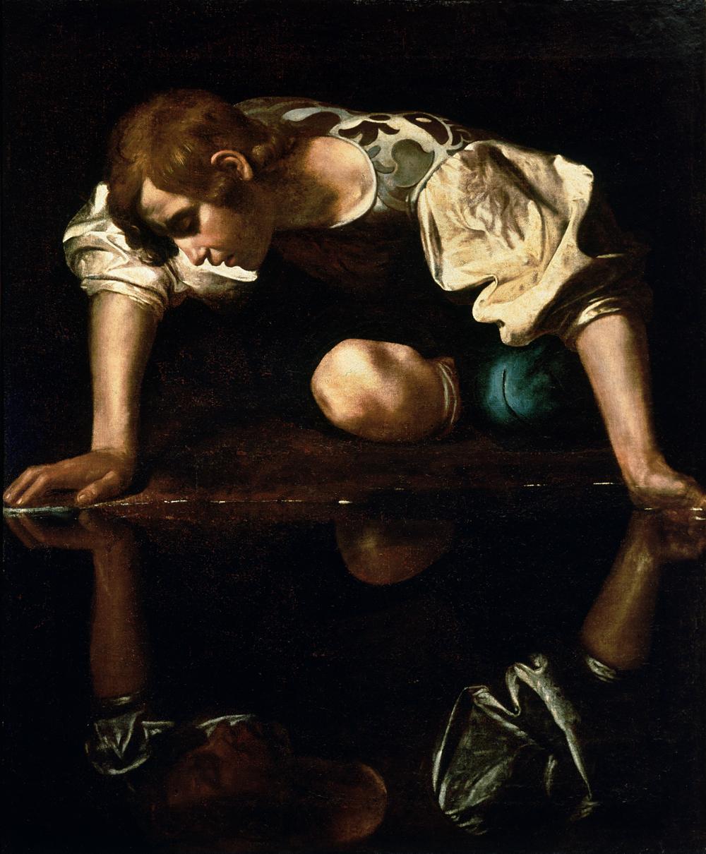 Narcissus-Caravaggio_(1594-96)_edited