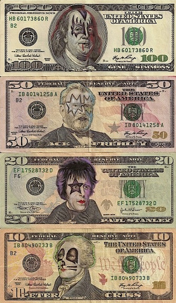 kiss money