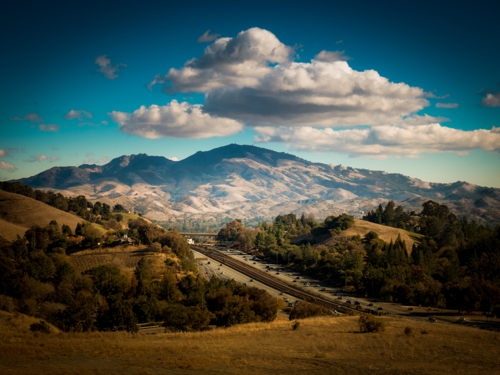 Lafayette View-Mt Diablo