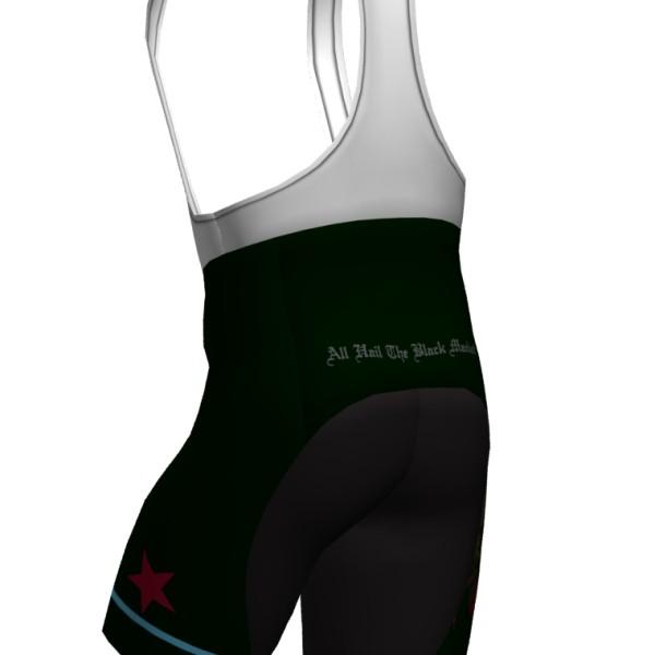 2015 All Hail The Black Market bib shorts