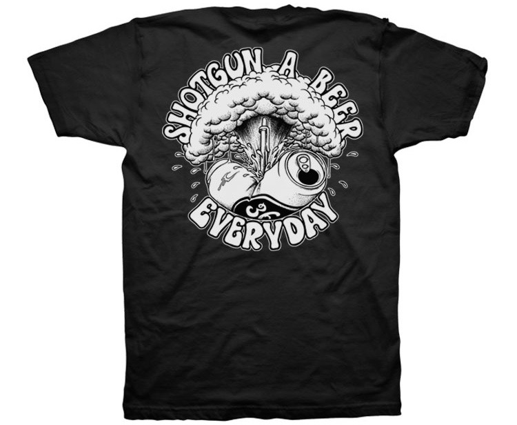 Shotgun A Beer Every Day shirt (1)