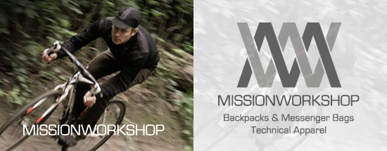 Mission Workshop advertisement