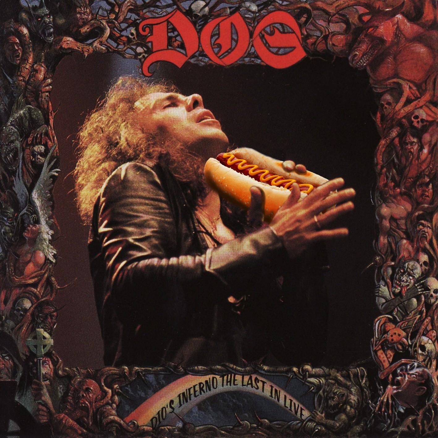 hot dog in the dark