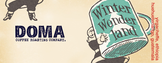 Doma coffee advertisement