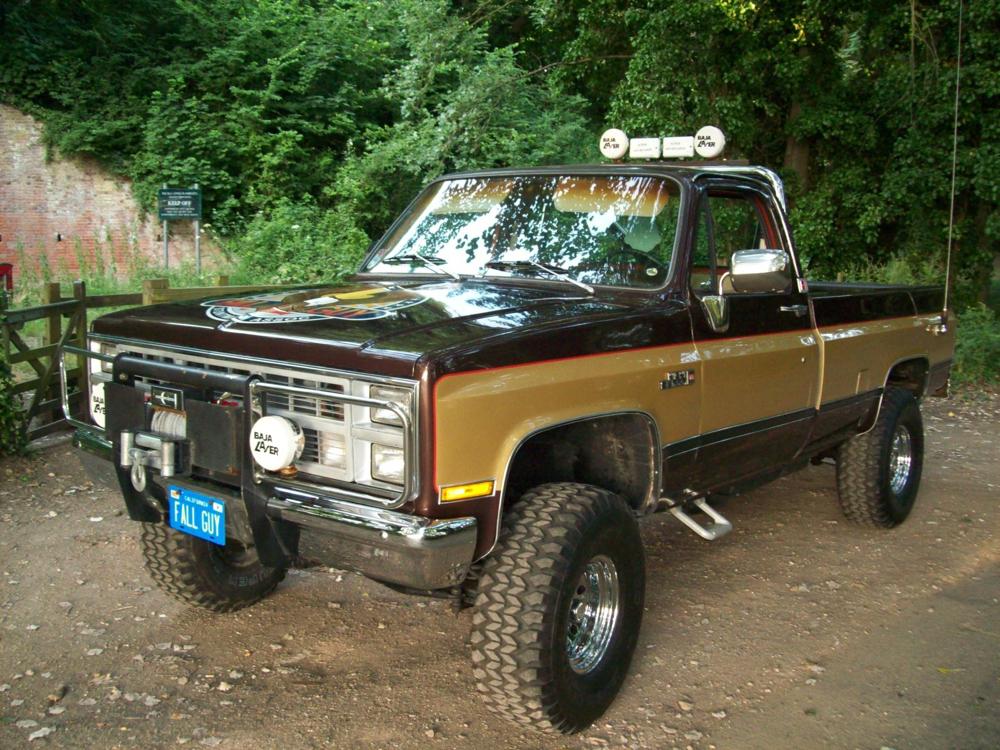 Fall Guy Truck >> Let's do 'dis, Brutus. | ALL HAIL THE BLACK MARKET